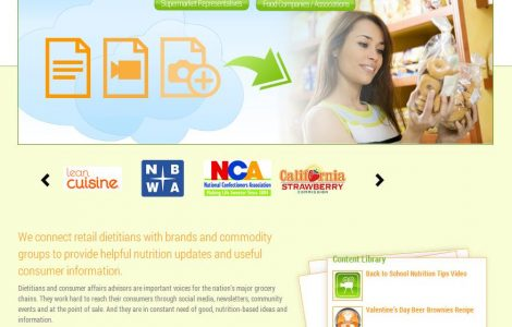 Shopping for Health Website Design