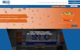 SNAC website