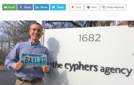 Steve Adams at The Cyphers Agency