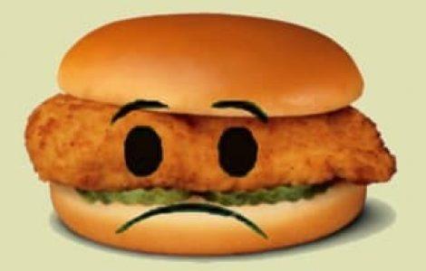 Sad Chicken Sandwich